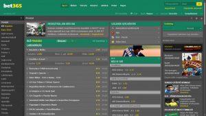Bet365 Sportslobby
